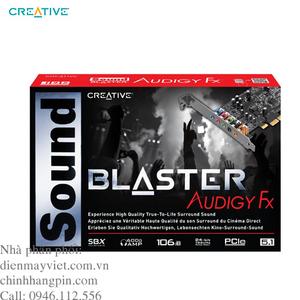 Card âm thanh Creative Sound Blaster Audigy FX PCIe 5.1 (SB1570)