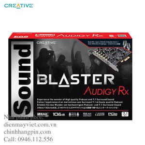 Card âm thanh Creative Sound Blaster Audigy PCIe RX 7.1 SB1550