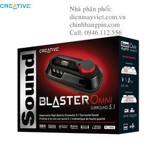 Card âm thanh Creative Sound Blaster Omni Surround 5.1 (SB1560)