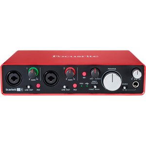 Card âm thanh Focusrite Scarlett 2i4 USB Audio Interface (2nd Generation)