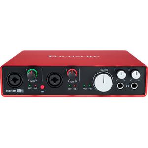 Card âm thanh Focusrite Scarlett 6i6 USB 2.0 Audio Interface Gen2