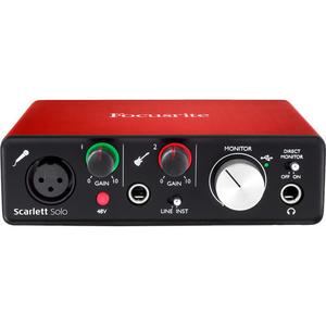 Card âm thanh Focusrite Scarlett Solo USB Audio Interface (2nd Generation)