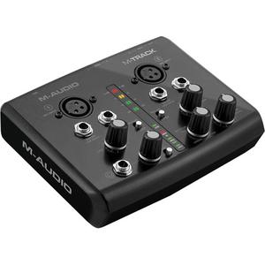 Card âm thanh M-Audio M-Track Plus - USB Audio/MIDI