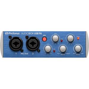 Card âm thanh PreSonus AudioBox 96 USB 2.0 Audio Recording Interface