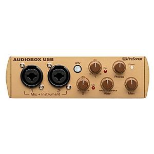 Card âm thanh PreSonus AudioBox Gold/ MIDI-USB