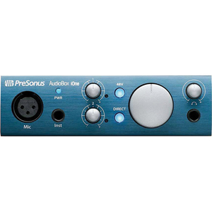 Card âm thanh PreSonus AudioBox iOne USB 2.0 & iPad