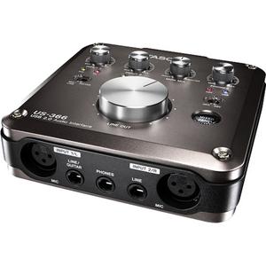 Card âm thanh thu âm Tascam US-366 USB 2.0 with DSP Mixer