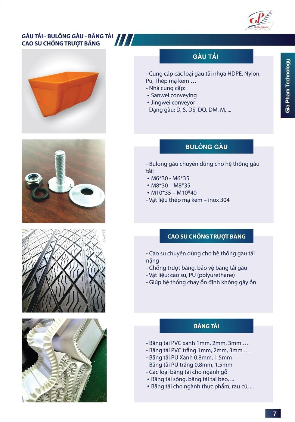 Catalogue túi lọc bụi công ty Gia Phạm