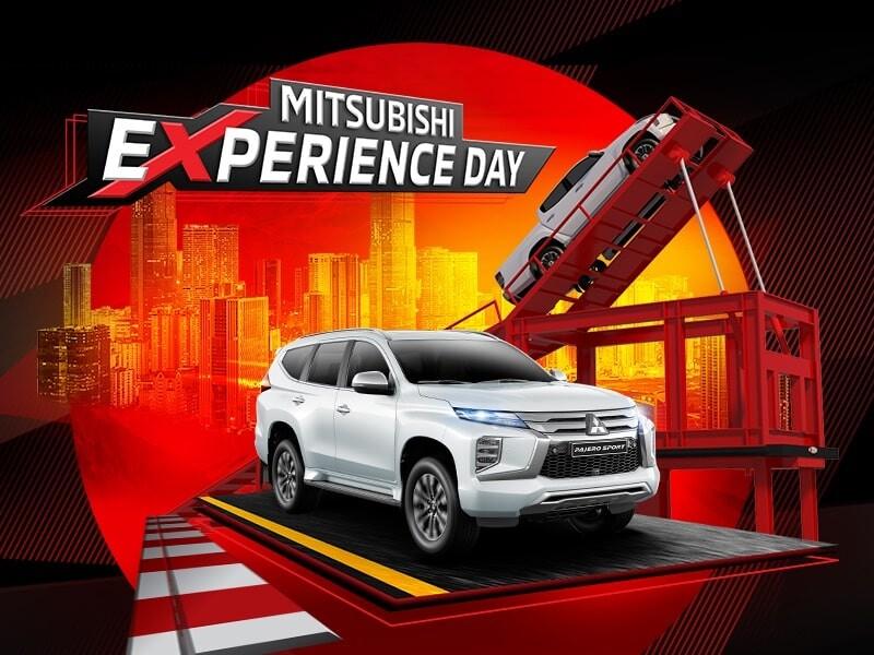 Cầu cao tại Mitsubishi Experience Day