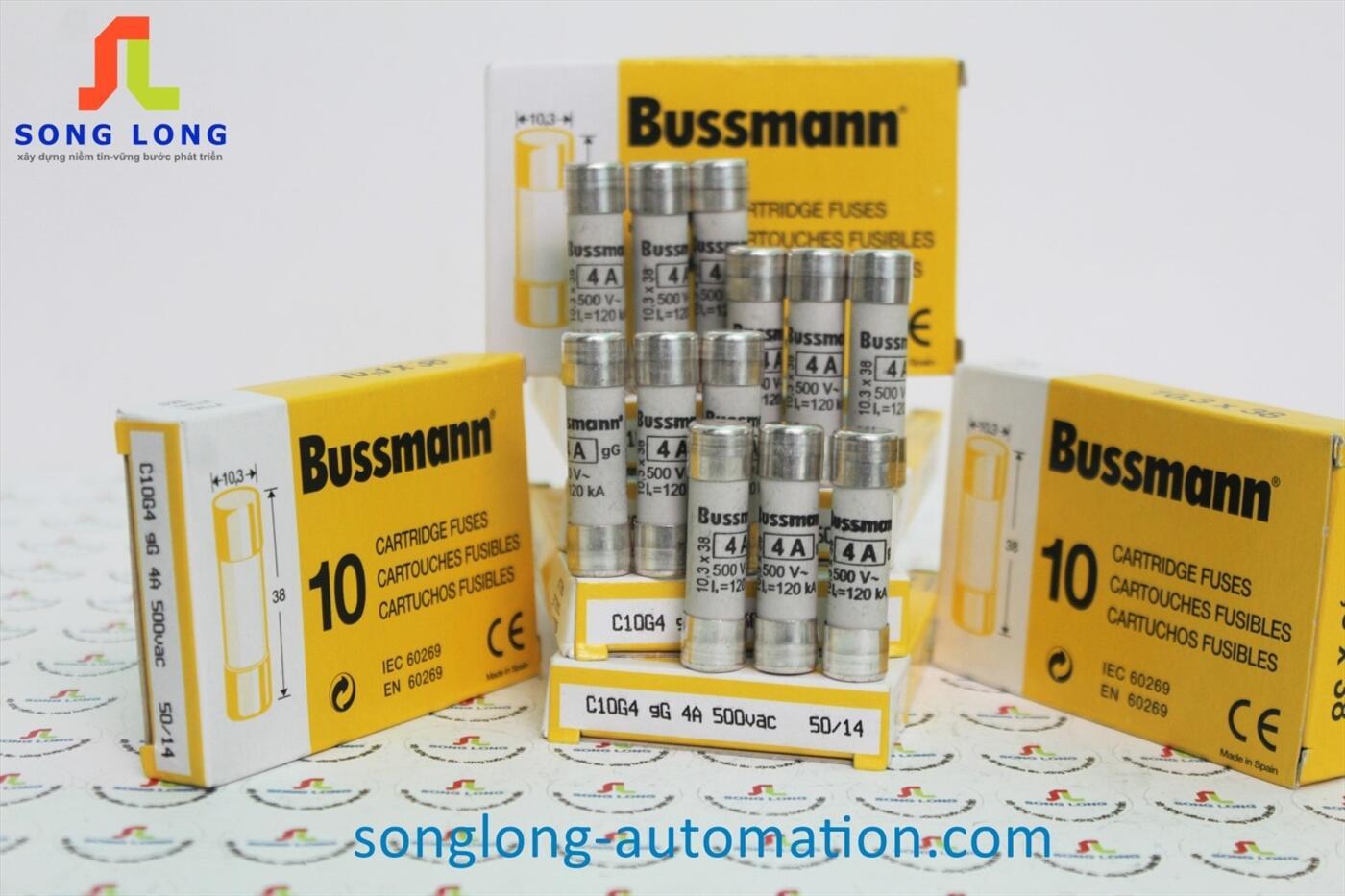 CẦU CHÌ 10X38 BUSSMANN C10G4
