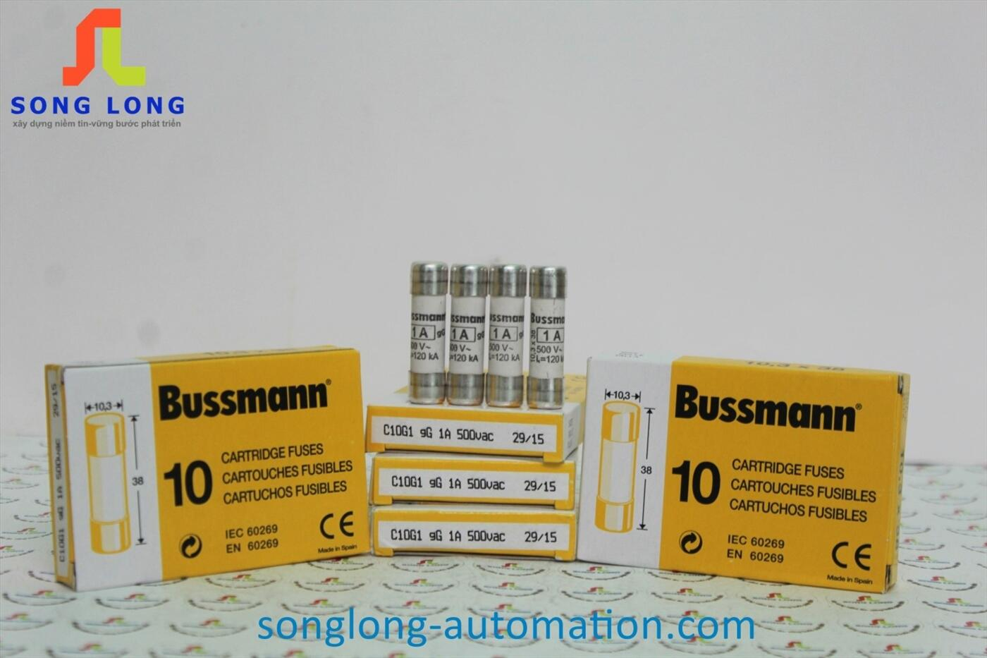 CẦU CHÌ 10X38 BUSSMANN C10G1