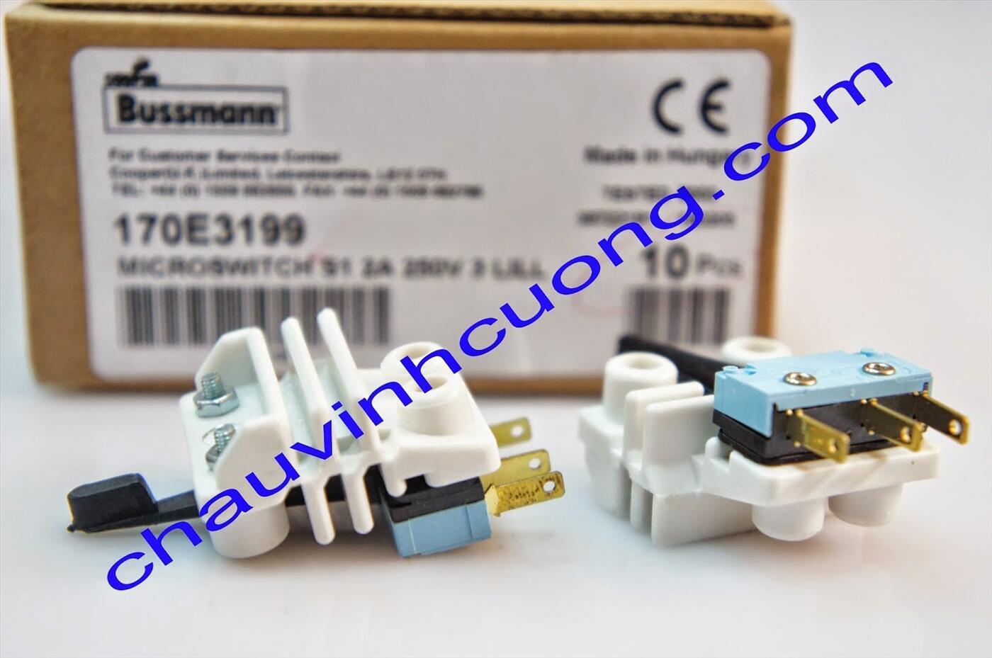 Micro Switch Bussmann 170E3199