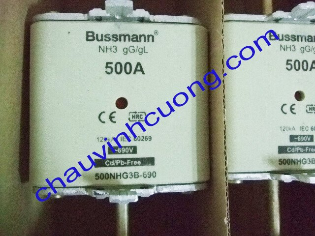 Cầu chì Bussmann 500NHG3B-690