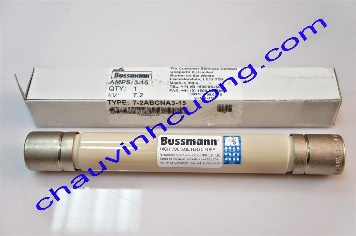 Cầu Chì Trung Thế Bussmann 7-2ABCNA3.15