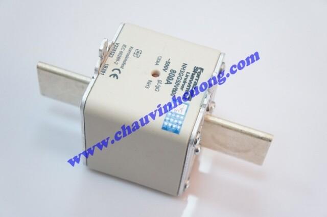 CẦU CHÌ FERRAZ SHAWMUT NH3GG50V800