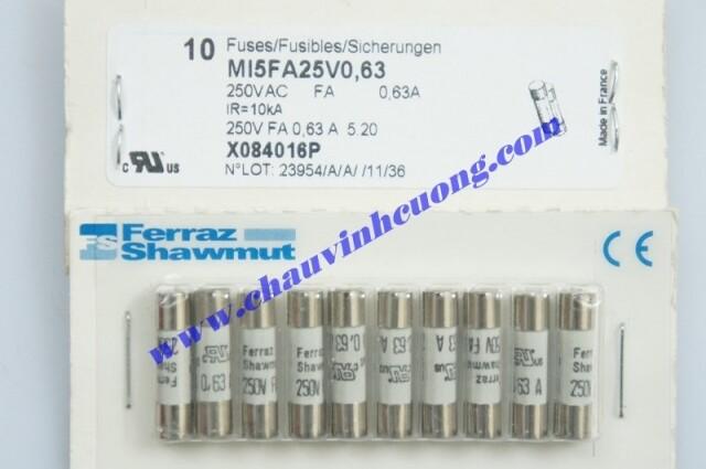 CẦU CHÌ FERRAZ SHAWMUT MI5FA25V0,63