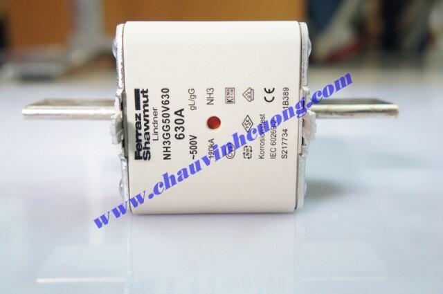 CẦU CHÌ FERRAZ SHAWMUT NH3GG50V630
