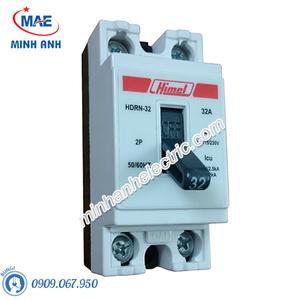 Cầu dao an toàn 2P 10A - Model HDRN32C10WG
