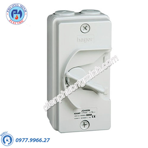 Cầu dao cách ly Hager (isolator) - Model JG263IN