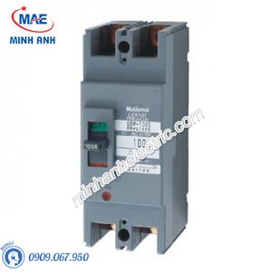 Cầu dao đóng ngắt mạch điện MCCB 2P 100A 50KA 200VAC - BBW2100SKY
