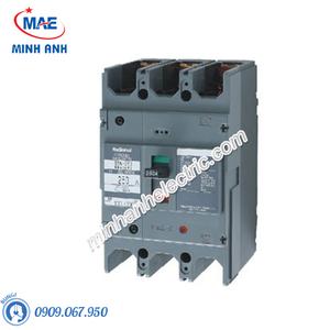 Cầu dao đóng ngắt mạch điện MCCB 3P 225A 25KA 415VAC - BBW3225KY