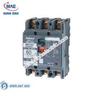 Cầu dao đóng ngắt mạch điện MCCB 3P 60A 2.5KA 415VAC - BBW360SKY