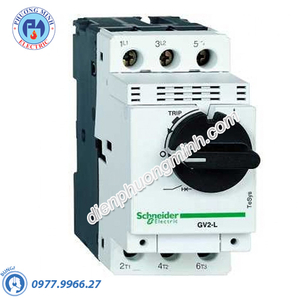 CB bảo vệ động cơ loại từ GV2L 6.3A 2.2kW- Model GV2L10