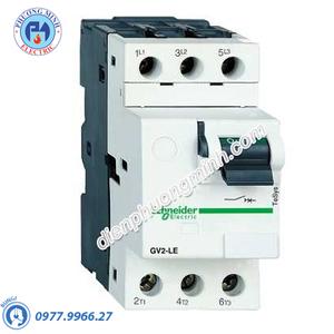 CB bảo vệ động cơ loại từ GV2LE 0.63A 0.12kW- Model GV2LE04