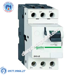 CB bảo vệ động cơ loại từ GV2LE 1A 0.25kW- Model GV2LE05
