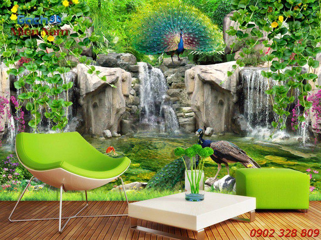 GẠCH 3D CHIM CÔNG CC104