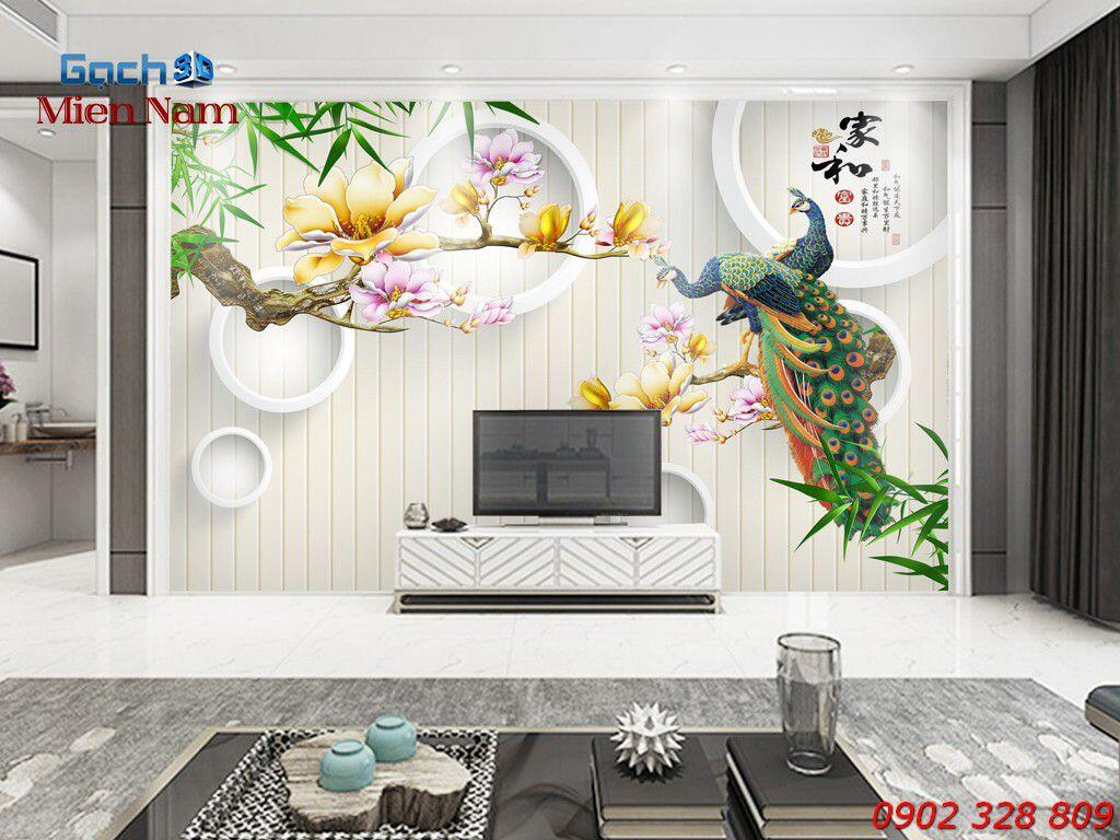 GẠCH 3D CHIM CÔNG CC24