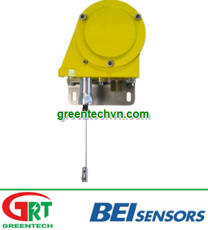 Draw-wire position sensor / potentiometer / analog / absolute min. 700 mm, max. 55 000 mm   CD Serie