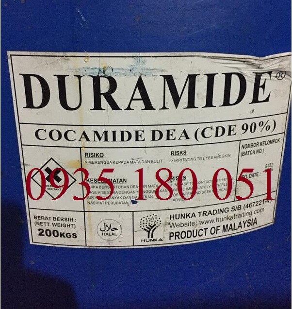 Coconut Oil Acid Diethanolamine (CDE)