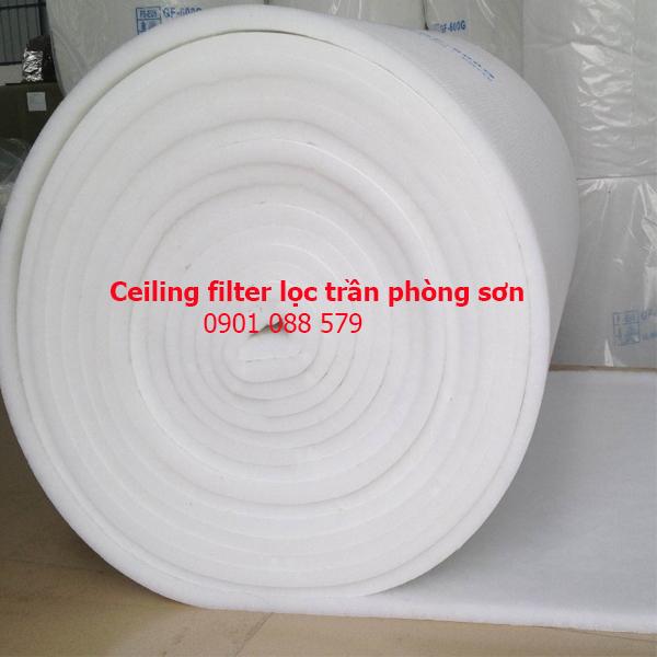 Ceiling filter lọc trần phòng sơn