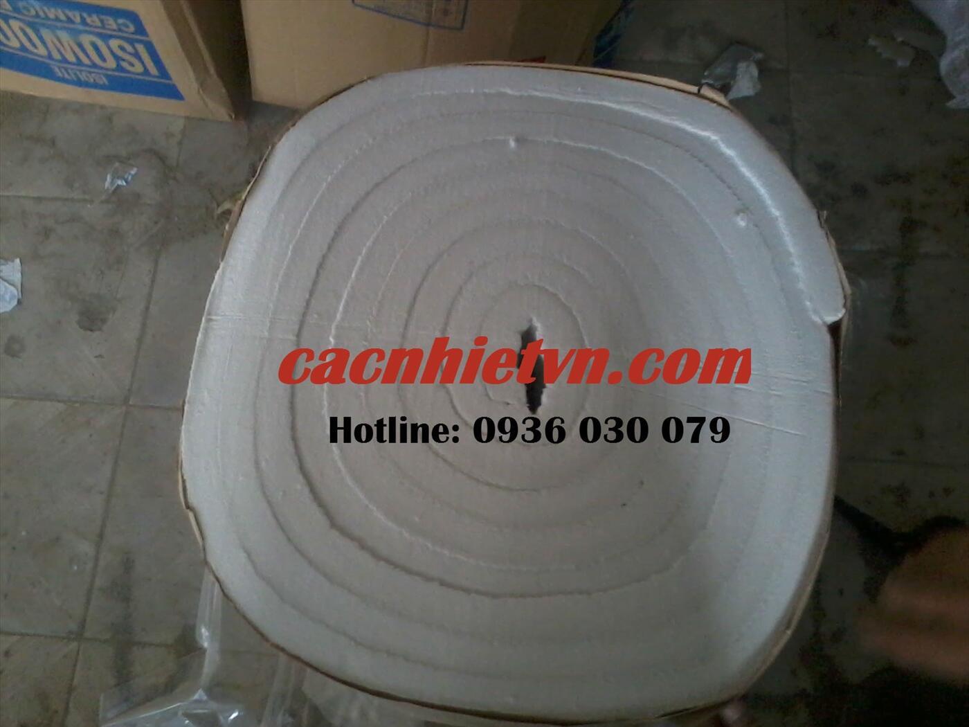 Bông sợi gốm ceramic chịu nhiệt