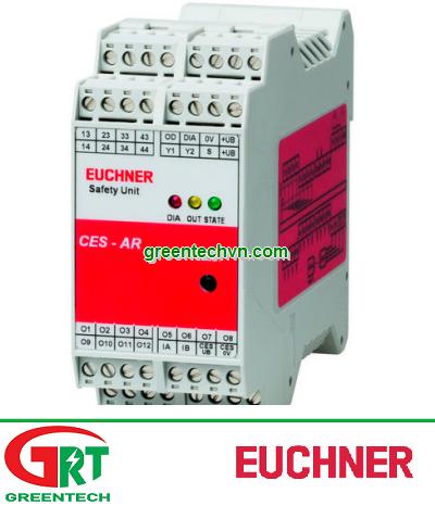 Euchner CES-AR-AES-1 | Bộ giám sát an toàn Euchner CES-AR-AES-12 | Safety monitor | Euchner Vietnam
