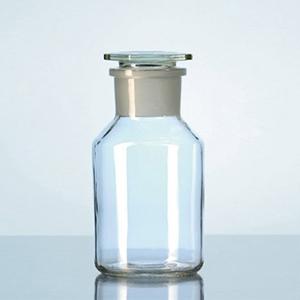 Chai cổ mài miệng rộng nắp thủy tinh đầu bằng thủy tinh soda-lime - DURAN