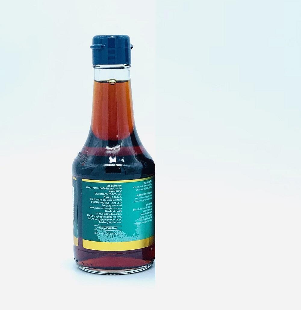Nước mắm Hạnh Phúc 60 độ đạm chai 250ml( Combo-2chai 250ml)