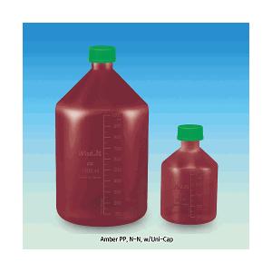 Chai nhựa nâu dùng chứa mẫu, hóa chất Wisd