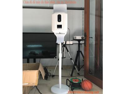 Chân đế di động dùng để máy đo thân nhiệt