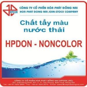 Chất khử độ màu nước thải HPDON - NONCOLOR