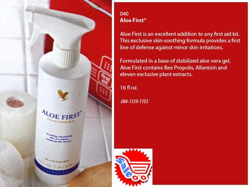 Aloe First MS 040 Chất Phun Làm Dịu Da Tự Nhiên
