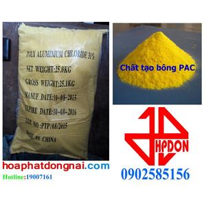 Chất tạo bông PAC (Poly Aluminium Chloride [Al2(OH)nCl6-n]m) 30%