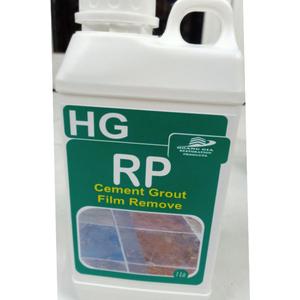 Chất tẩy màng xi măng, màng vữa, vôi, vết gỉ và cặn bẩn cứng đầu HG RP Cement Grout Film Remove 1L