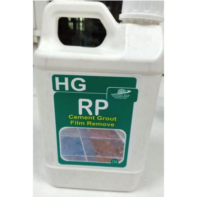 Chất tẩy màng xi măng, màng vữa, vôi, vết gỉ và cặn bẩn cứng đầu HG RP Cement Grout Film Remove 2L