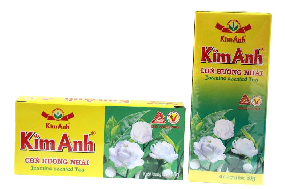 Chè-Trà Nhài(Lài) Kim Anh( 25 túi/Hộp)