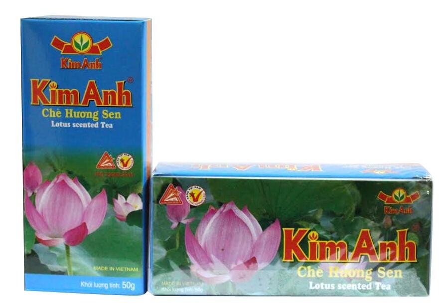 Chè -Trà Sen Kim Anh( 25 túi/Hộp)