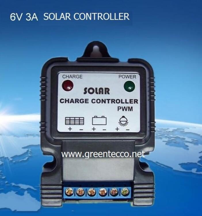 Bộ điều khiển nạp năng lượng mặt trời 6V3A - controller năng lượng mặt trởi