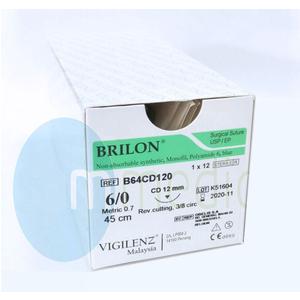 Chỉ Nylon 6/0 Brilon B64CD120