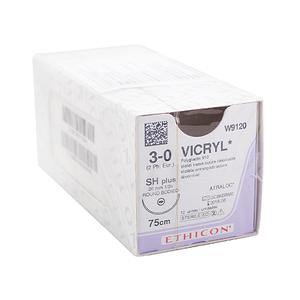 Chỉ phẫu thuật Vicryl 3-0 (tròn) W9120